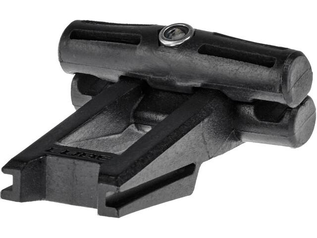 Cube Saddle bag adapter Click black